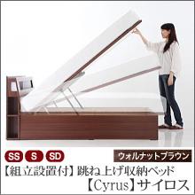 跳ね上げベッド【Cyrus】サイロス