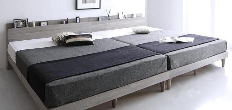 デザインベッド【Alcester】オルスター